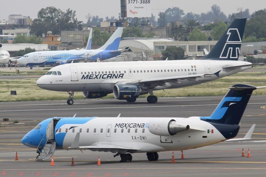 El aeropuerto de México. (Foto Prensa Libre: Hemeroteca PL)