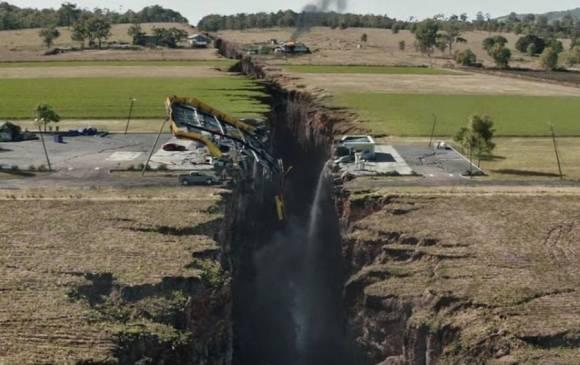 Este año fue estrenada la película San Andrés, basada en la mencionada falla geológica.(Foto: captura de la película San Andrés).
