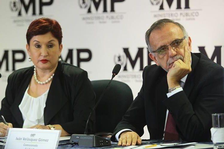 Iván Velásquez tomó el mando de Cicig desde octubre de 2013. (Foto Prensa Libre: Hemeroteca PL)