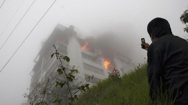 Ante un desastre, la cámara. GETTY IMAGES