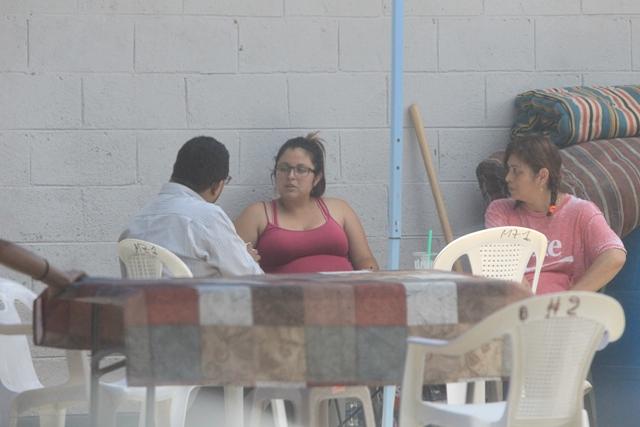Joam Ponce, quien fue representante legal de Carnes y Ensaladas, S. A., brinda entrevista en la cárcel.(Foto Prensa Libre: Esbin García)