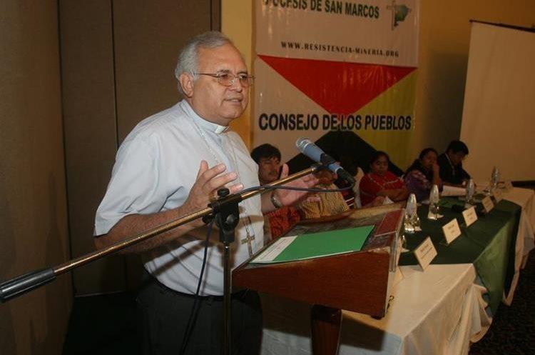 Ramazzini permanece en la Diócesis de Huehuetenango.(Prensa Libre: Hemeroteca PL)