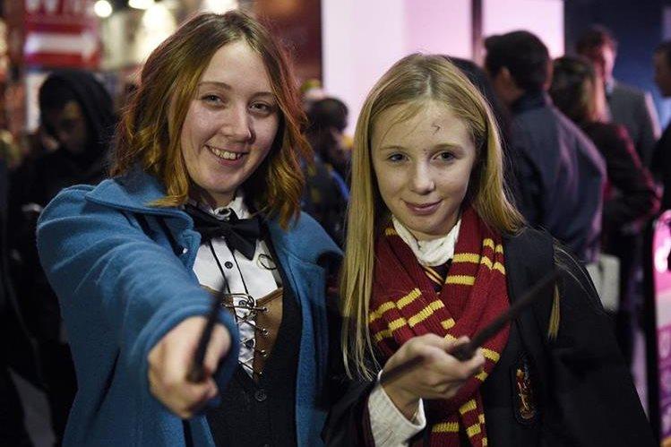 La saga de Harry Potter ha llegado invadir el mundo. (Foto Prensa Libre: AP)
