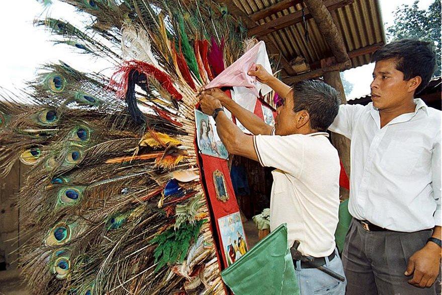 En Parramos, departamento de Chimaltenango, celebran a los Santos Inocentes como patronos. (Foto: Hemeroteca PL)