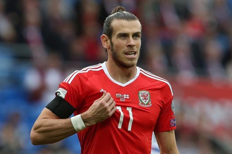 Gareth Bale marcó el único gol de Gales. (Foto Prensa Libre: AFP)