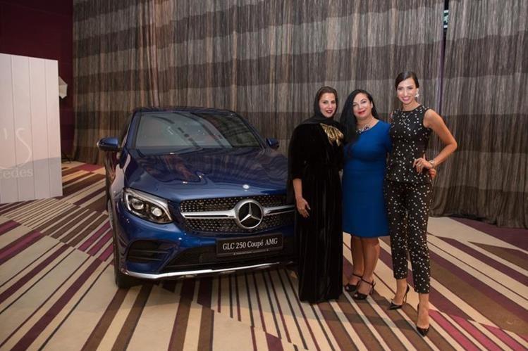 Evento de She´s Mercedes que se realizó en Dubai. (Foto Prensa Libre: Cortesía)