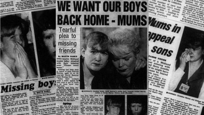 La prensa local hizo eco del caso en 1997. BIRMINGHAM MAIL