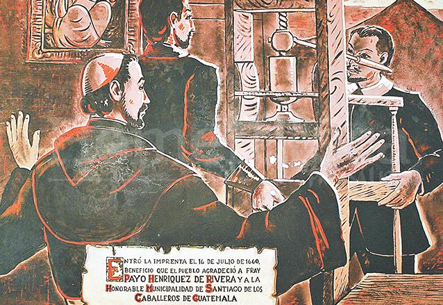 El obispo Payo Enríquez de Rivera fue quien trajo la primera imprenta a Guatemala.  (Foto: Hemeroteca PL)