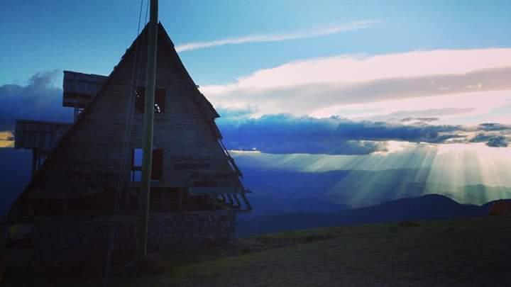 Así se apreció un cálido paisaje captado en el mirador Juan Diéguez Olaverri, en Huehuetenango.