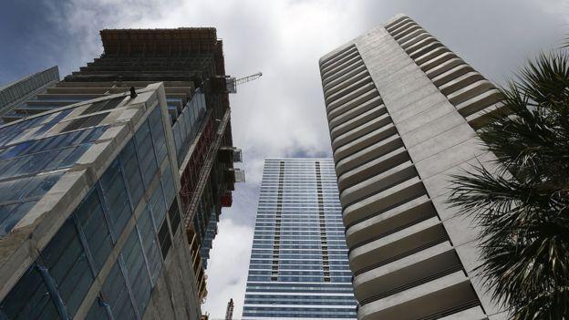 Uno de los asaltos más grandes a bancos de Florida, y en el que se cree que Mustelier estuvo involucrado, ocurrió en Brickell, Miami. (GETTY IMAGES)
