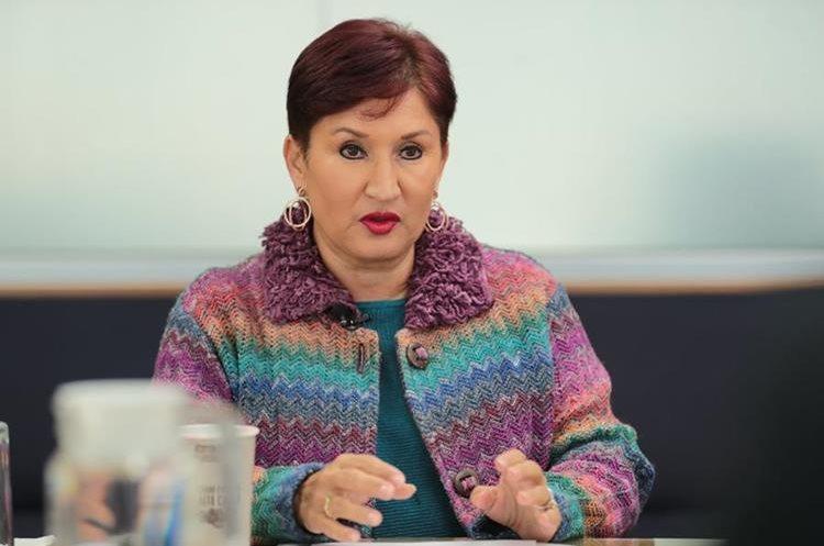 Thelma Aldana asegura que el MP es la institución que está más preparada para trabajar después del fin del mandato de Cicig. (Foto Prensa Libre: Alvaro Interiano)
