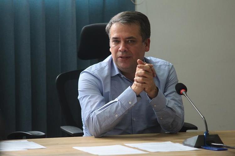 Edwin Escobar, alcalde de Villa Nueva. (Foto Prensa Libre: Hemeroteca)