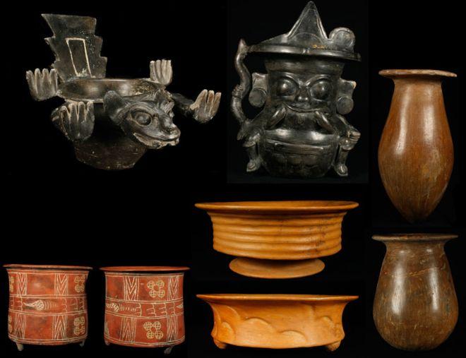 El hallazgo de una ofrenda compuesta por más de 100.000 objetos sorprendió a los arqueólogos. SERGIO GÓMEZ