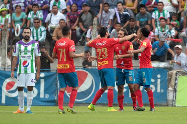 Municipal buscará lograr la victoria, ahora en su casa, frente a Marquense. (Foto Prensa Libre: Hemeroteca PL)