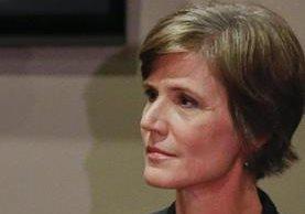 Trump fulminó a la fiscal Sally Yates, quien expresó dudas sobre la legalidad de los decretos del presidente de EE.UU. sobre migración.