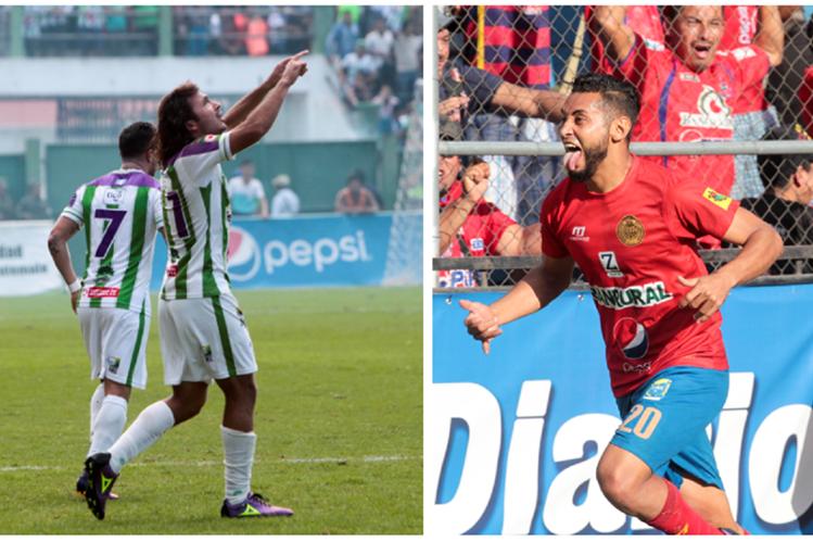 Agustín Herrera y Danilo Guerra son los goleadores del torneo y esperan salir campeones. (Foto Prensa Libre: Norvin Mendoza)