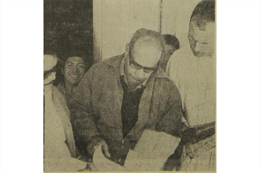 James McGreevy, párroco de Santa Catarina Ixtahuacán en 1971. (Foto: Hemeroteca PL)