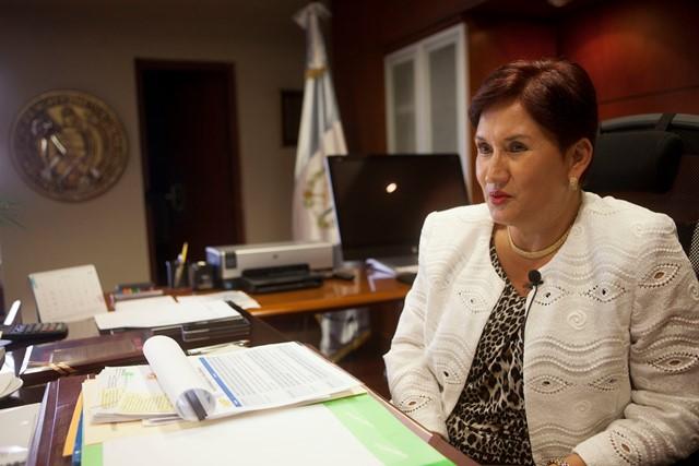 La fiscal general, Thelma Aldana habla sobre las amenazas de muerte que ha recibido, por lo que considera que la corrupción le esta pasando la factura. (Foto Prensa Libre: AP)