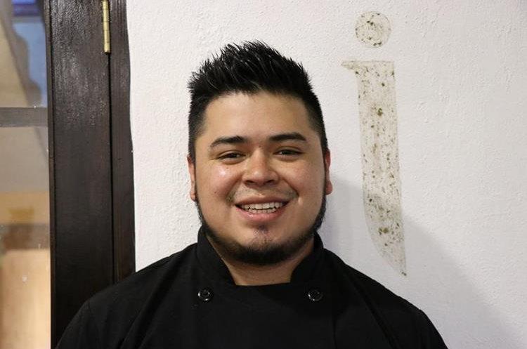Chef Luis Felipe Quijivix (Foto Prensa Libre: María José Longo)