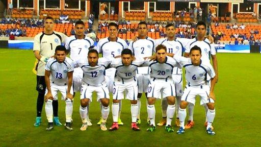 El Salvador cayó frente a Haití, en el debut del seleccionador Ramón Maradiaga (Foto Prensa Libre: Cortesía EDH Deportes)