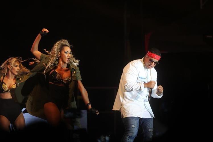 Daddy Yankee es uno de los exponentes del raggeaton (Foto Prensa Libre: Erick Avila)