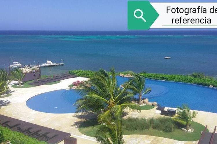 La casa tiene vista al mar. (Foto Prensa Libre: MP)