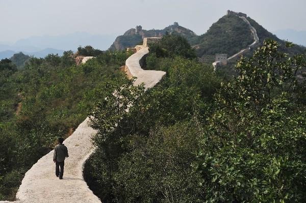 La Gran Muralla China es Patrimonio de la Humanidad protegido por la Unesco desde 1987. (AFP).
