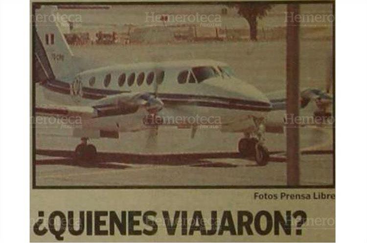 Avión presidencial salió a seis destinos del exterior al menos 26 veces en 15 meses. 24/9/2002. (Foto Hemeroteca PL)