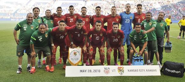La selección boliviana integra el grupo D. (Foto Prensa Libre: EFE)