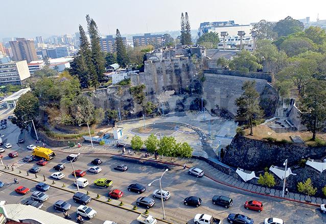 Vista de lo que queda del antiguo Fuerte de San José. (Foto: Hemeroteca PL)