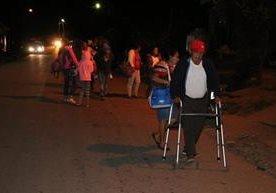 Pobladores de varias comunidades dejan sus casas por temor a fuerte erupción.&nbsp;<br />