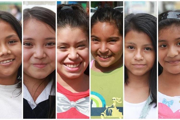 En el país hay 191 mil niñas de 10 años. (Foto Prensa Libre: Hemeroteca PL)