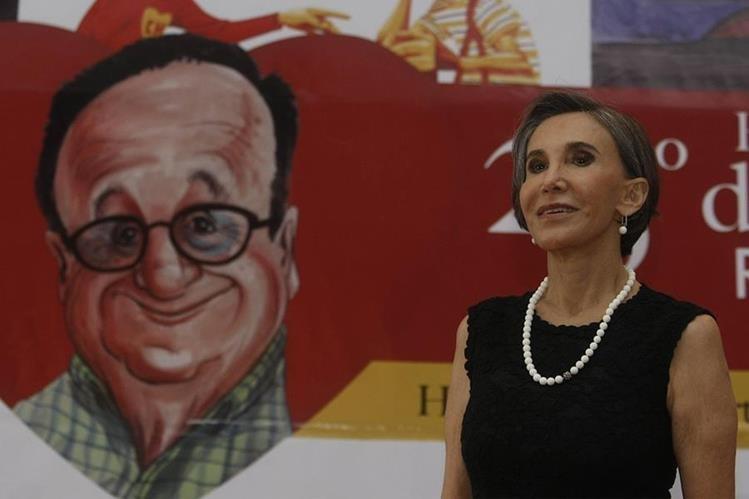 Florinda Meza se encuentra en Colombia en donde asiste a unos homenajes que le realizan a El Chavo del Ocho. (Foto Prensa Libre. EFE)