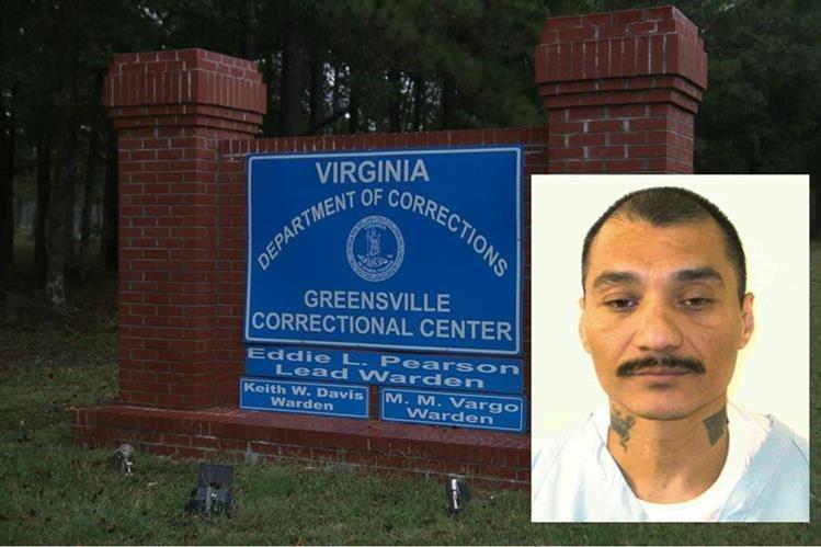 Ingreso a la cárcel de Greenville, Virginia, donde Prieto fue ejecutado. (Foto: EFE)