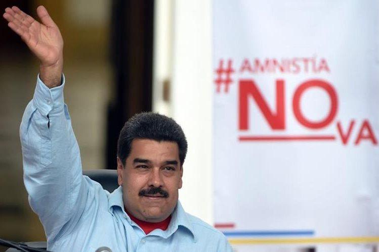 El presidente Nicolás Maduro había pedido al TSJ venezolano rechazar la Ley de Amnistía. (Foto Prensa Libre: AFP).