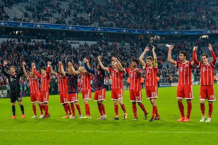 El equipo bávaro sigue siendo de los más caros de Europa pese a estar en deuda en Champions League. (Foto Prensa Libre: AFP)