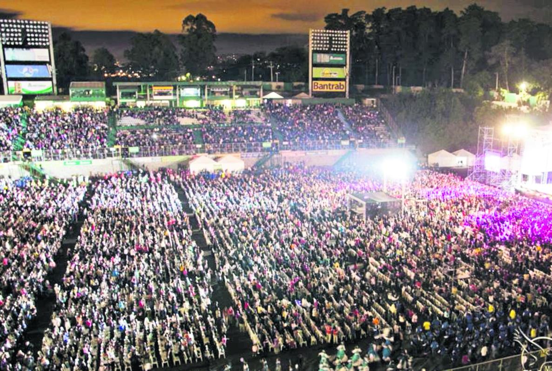 Vista de la actividad en el 2015 (Foto Prensa Libre Hemeroteca PL)