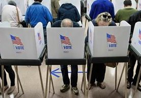 Los votantes eligirán el próximo 8 de noviembre al sucesor de Barack Obama. (Foto Prensa Libre: AFP).