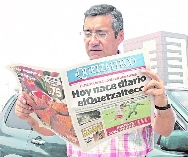 El 14 de noviembre de 2000 se amplía la circulación a dos días a la semana. (Foto Hemeroteca PL)
