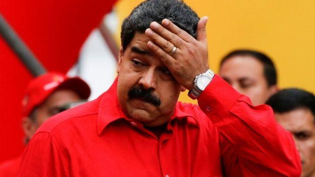 Nicolás Maduro, presidente de Venezuela, cree que hay un intento de golpe de Estado contra su gobierno.(REUTERS)