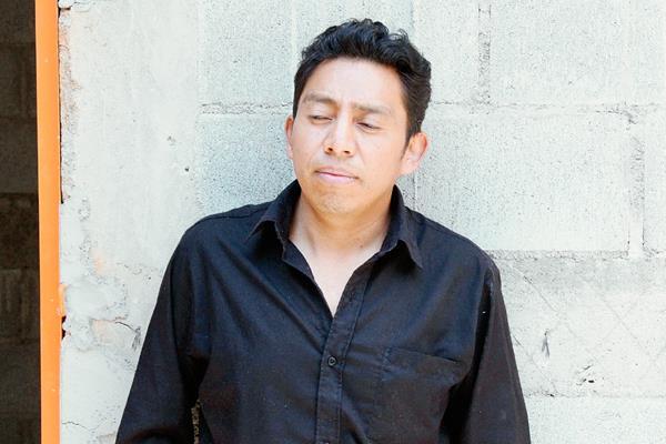 El maestro  Sebastián Macario Suy fue capturado en Zacualpa, Quiché, señalado de violación contra una de sus alumnas. (Foto Prensa Libre: Óscar Figueroa)