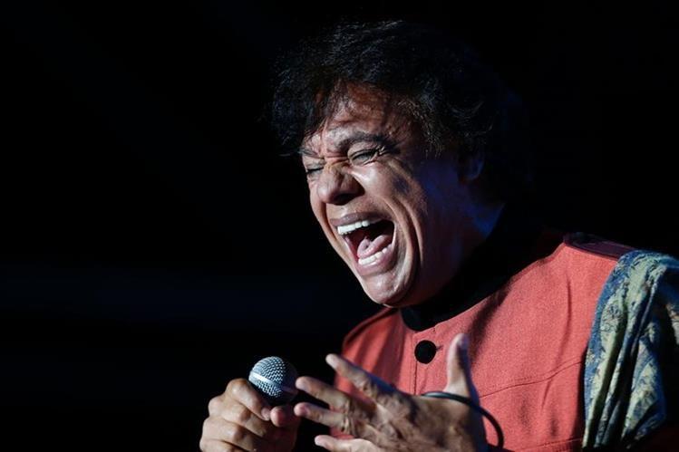 Juan Gabriel falleció a consecuencia de un paro cardíaco este domingo en Estados Unidos. (Foto Prensa Libre: AFP)