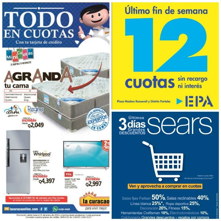Anuncios publicados en la edición del viernes de Prensa Libre.