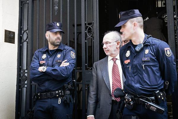 Rodrigo Rato, exdirector gerente del FMI, está acusado de blanqueo y fraude. (Foto Prensa Libre:EFE).