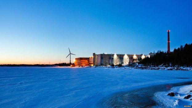 El centro de datos de Google en Finlandia te da una idea de la escala de este tipo de instalaciones. (GOOGLE).