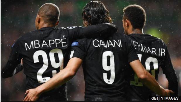 Cavani estuvo a la sombra de Zlatan Ibrahimovic y ahora lucha para no quedar relegado por el brillo de Neymar y Mbappé.
