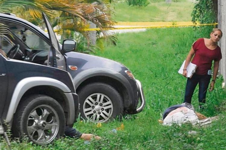 Honduras vive una ola de violencia y delincuencia común que deja un promedio de catorce muertos diarios. (Foto Prensa Libre: EFE).