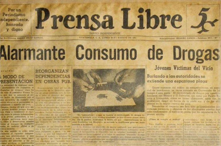 Prensa Libre publica su primer ejemplar el 20 de agosto de 1951.