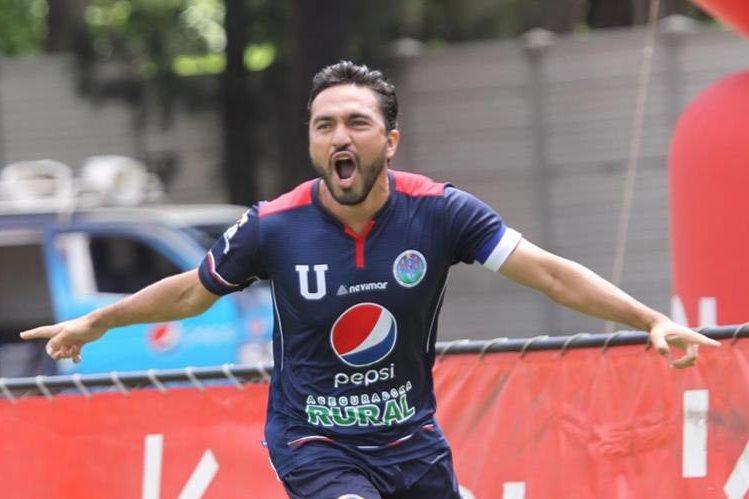 La vena goleadora de Kamiani lo llevó a los escarlatas. (Foto Prensa Libre: Hemeroteca PL)