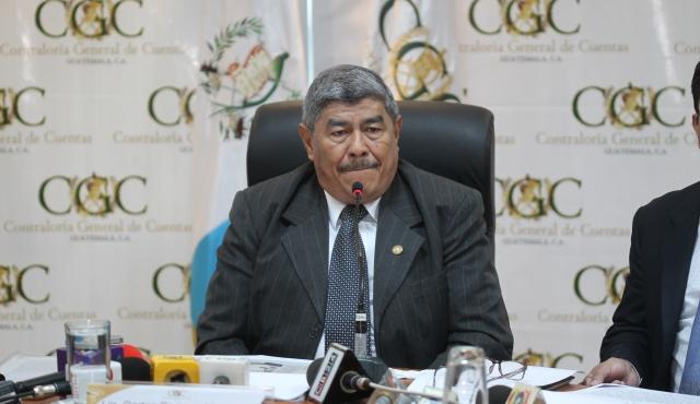 Carlos Mencos, es el actual titular de la Contraloría General de Cuentas (CGC). (Foto Prensa Libre: Hemeroteca)